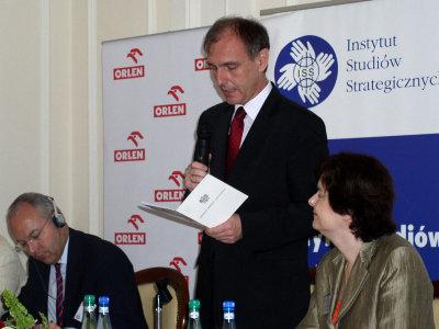 Minister Obrony Narodowej RP Bogdan Klich